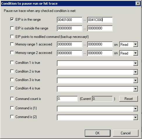 Trace Configuration